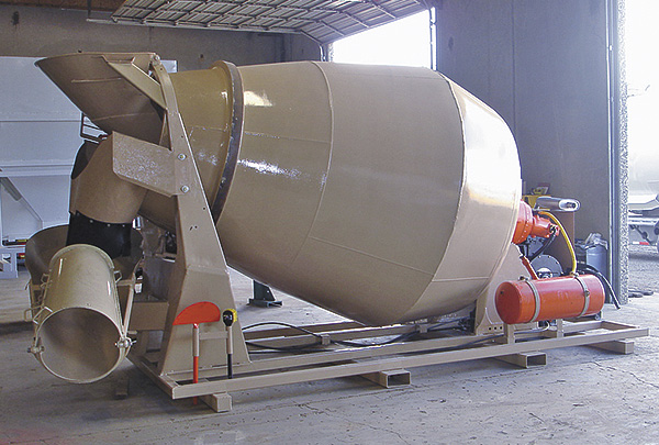 American Mixers And Plants Skid Mounted Concrete Mixers